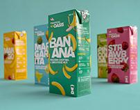 Tropical Oasis packaging