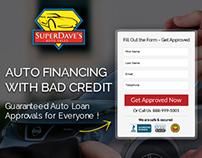 Autoloan Landing Page