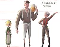 Character Design Practice (Fanart)