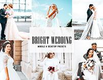 Free Bright Wedding Mobile & Desktop Lightroom Presets