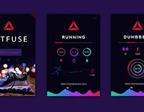 UI Kit & Performance App for Reebok (My trial working)