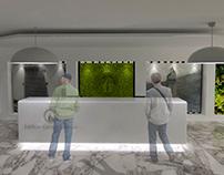 Diseño reforma lobby Coltejer