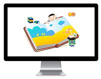 LG생활건강 헬프키드 - 스크린세이버