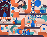 Design Thinkers: Bilotta free font and pattern