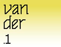 vander .1 —free font