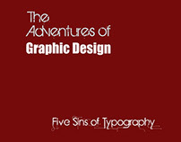 Typography Book (5 Sins of Typography)
