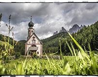 Kirche St. Magdalena, Villnöss, Geisler Spitzen