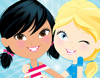 Best Friends Forever book series from Scholastic