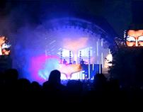 Visuals Den Sorte Skole Skanderborg Festival