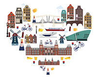 MAKE YOUR AMSTERDAY (Travel App)
