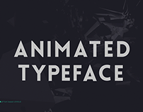 Animated Typeface Lovelo
