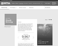 NHTSA Topic page