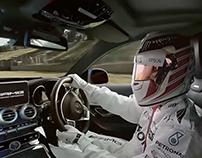 Lewis Hamilton AMG VR Experience
