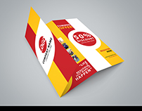 Brochure design - simple and different