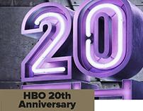 HBO Asia 20th Anniversary Campaign