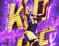 [NBA Social] Kobe Bryant Birthday Graphic 2017