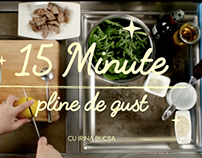 Olympus 15 minute meals // Title sequence