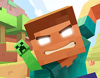 Recreio's Cover Illustration- Minecraft