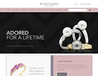 Wintersons: Responsive Magento 2 Concept Design