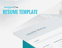 Resume Template Shona