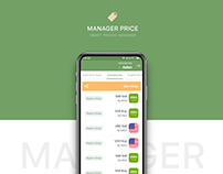 Manager Dashboard UIUX Design