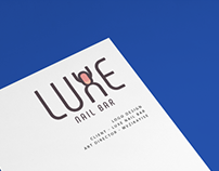 LUXE Nail Bar - Visual Identity - Logo