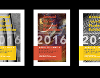 Student Art Show Posters