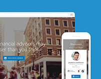 LinkedIn x Transamerica Financial Advisors Tool