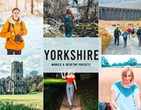 Free Yorkshire Mobile & Desktop Lightroom Presets