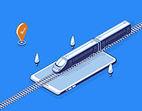 Train tickets online iOS app