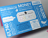 Making Miracle Babies Info Mailer