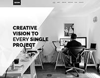 QOON - Creative WordPress Theme by OrangeIdea