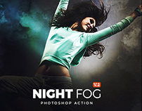 Night Fog Photoshop Action