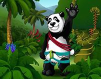 Pandzy le Panda ! Character Design