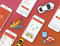 Free Mobile App UI PSD :)