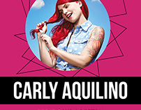 Laugh Boston Carly Aquilino Poster