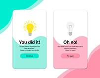 Daily UI #11: Flash Message (Error/Success)