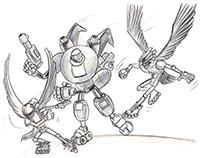 Rollerblade Birds Concept