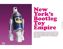 Color Story Hot Pink:New York's Bootleg Toy Empire