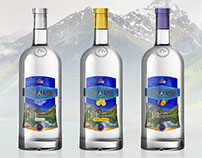 Vodka Goralska | Labels design