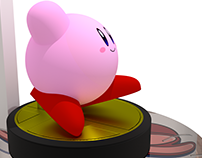 Kirby Amiibo Design