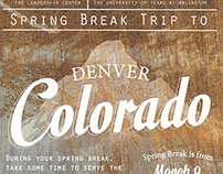 Alternative Spring Break Trip - Denver