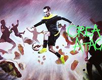 """Nike Magista """"CREA. ATACA."""""""