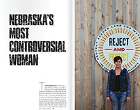 Omaha Magazine • Editorial Layout Design