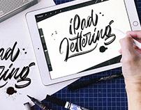 iPad Lettering Sketches vol. 1. 09/2018