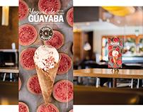 Helado yogurt de Guayaba - Crepes & Waffles
