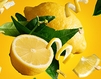 Lemon explosion made with Layer-Lab's PNG images!