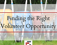 Finding the Right Volunteer Opportunity By Eric Perardi