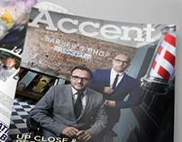 Branding & Editorial Design: Accent Magazine