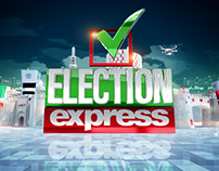 Election Express Title Sequence